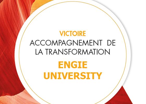 Trophée d'Or « Accompagnement de la transformation »